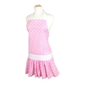 Accessories - Sadie Pink Polka Dot Apron - One size *NWT